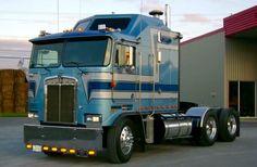 Kenworth K100 Show Trucks, Big Rig Trucks, Custom Big Rigs, Custom Trucks, Kenworth Trucks, Peterbilt, Diesel Trucks, Diesel Cars, Custom Trailers