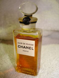 VINTAGE CHANEL CUIR de RUSSIE PURE PERFUME SEALED