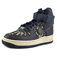 best website 46111 26d13 Nike Womens Wmns Air Force 1 Hi LIB QS LIBERTYCARGO KHAKIOBSIDIAN 95 M US   You
