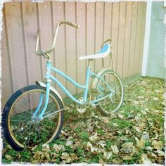 I loved these bikes as a kid!  A spider bike with a banana seat, is what we called them.