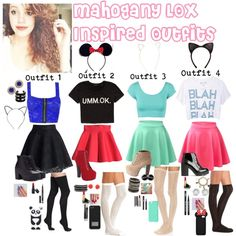 """""""Mahogany LOX inspired Outfits"""" by dinomustache13 on Polyvore"""