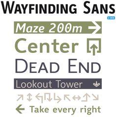 thesis sans serif