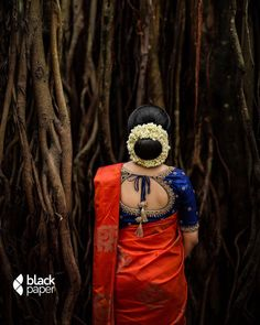 Exclusive Designer Kid Frock for 12 - 24 months old baby girl with FREE Headband. Kerala Saree Blouse Designs, Wedding Saree Blouse Designs, Fancy Blouse Designs, Saree Blouse Patterns, Bengali Bridal Makeup, Indian Bridal Fashion, Bridal Hair, Kerala Wedding Saree, Saree Wedding