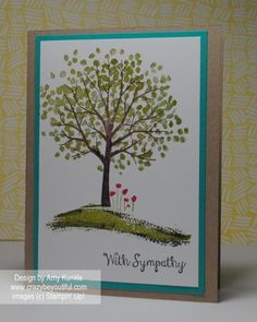 More pics and details on my blog: http://www.crazybeyoutiful.com/cards/stampin-up-sheltering-tree/
