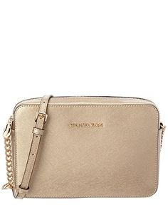 Michael Kors 32H5MTVC7M PALE GOLD Womens Jet Set Travel Cross-Body Bag Gold  (Pale Gold)  Amazon.co.uk  Shoes   Bags def4196f39522