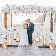 Beautiful! Love the flowers and lanterns and the finished look with ...