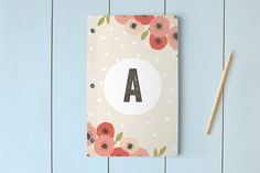Spotted Day Planner, Notebook, or Address Book by August and Oak at minted.com