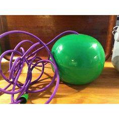 Pendel, Grøn lampe med lilla ledning. Aldrig brugt. Ca. 18