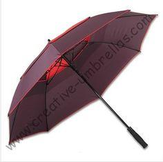 3 persons sport  fiberglass golf umbrella,outdoor sport umbrellas,auto open.business umbrellas,windproof,anti-thunderbolt #Affiliate