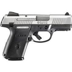 Ruger SR9c Compact Semi Auto Handgun 9mm 3.5 Barrel 17 Rounds Polymer Frame Brushed Stainless Slide 3313