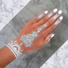 White tattoo designs