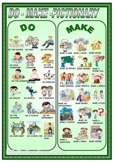 DO OR MAKE? - Welcome to Ángeles Lis' web page - Your English teacher