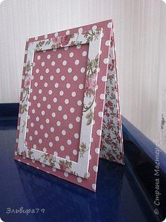 Текстильная рамочка для фото фото 1