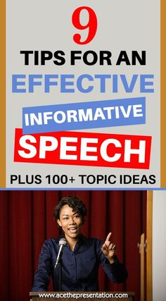 How do you go about preparing and delivering an informative speech? And some ideas on informative speech topics from business, economics to climate change that you can use in your next speech. Check out our key tips for delivering an effective informative speech.  #informativespeech #speechtoinform #publicspeakingtips