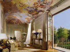 The Four Seasons Hotel Firenze is situated in an 11-acre botanical garden and housed in two restored Renaissance buildings—a fifteenth-century palazzo and a sixteenth-century convent. Rooms with frescoes and ceiling murals have amenities made by a Florence-based perfumer, and public areas showcase Renaissance art.