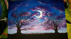 Acrylic painting by loreleijoanna
