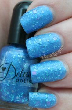 Delush Polish Free Mr. Bates mattefied