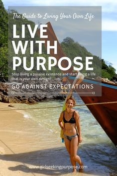 This is the ultimate guide to living your own life. Go against expectations and live with purpose. Stop living a passive existence and start living a life by your own design. Travel Advice, Travel Tips, Live With Purpose, Manifesting Money, Secret Law Of Attraction, Self Improvement Tips, Safety Tips, Solo Travel, Live For Yourself