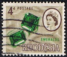 Rhodesia 1966 Whitley Fine Used SG 377 Scott 226 Other Rhodesian Stamps HERE