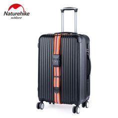 NatureHike 30-inch TSA Customs Travel Luggage Suitcase Strap Luggage suitcase Secure Lock Safe Belt Strap Cross Baggage Belt
