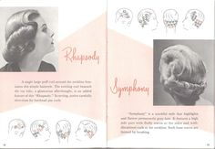 Vintage Pin Curl Setting Patterns | x