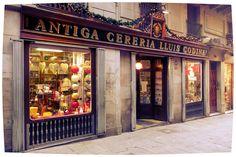 Barcelona.  Antiga Cereria Lluiss Codina