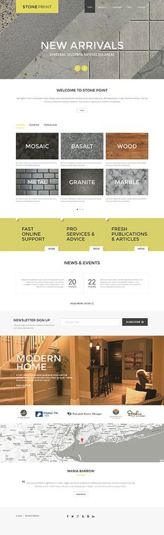 Stone Point Interior Furniture #Joomla #template. #themes #business #responsive