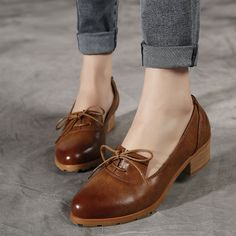 Find More Women's Flats Information about 2016 The Latest Fashion Women British Retro Style Oxford Shoes Pointed Brush Color Rough Heel Female Shoes Brogue Flat Shoes,High Quality shoes with wedge heel,China shoe cushion Suppliers, Cheap shoes with removable heel from Fashion Boutique Discount Stores on Aliexpress.com