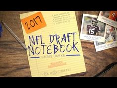 2017 NFL Draft Notebook October 28th-USA TODAY Sports Usa Today Sports, Nfl, October, Notebook, Nfl Football, The Notebook, Exercise Book, Notebooks