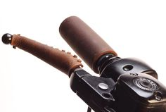 Leather grip and lever