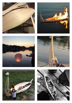 For my fathers funeral we sent him off in Viking style. I made the boat with balsa wood and we filled it with pictures and notes. It was a wonderful way to send him off.
