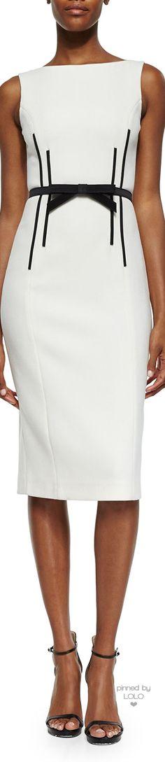 Doçura! Dress White and Black vestido branco e preto