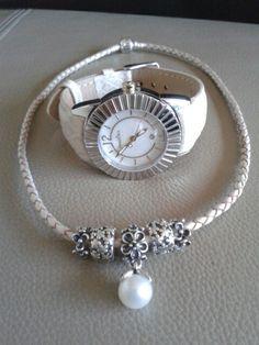 Pandora Leather Bracelet Clips