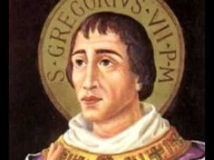 Saint of the Day – May 25 – St Pope Gregory VII (1020-1085) #pinterest Gregory VII Born Hildebrand c. 1020 in Tuscany, Pope/St. Gregory VII was one of the great church reformers. Educated in Rome, Hildebrand was chaplain to Gregory VI, whose exile he shared. When Gregory VI died in 1047, Hildebrand ...........A Yearbook of Saints | DEVOTIO