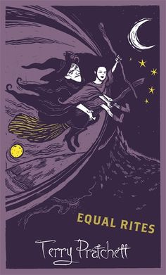 Gollancz Discworld Covers | The Mary Sue. Such lovely woodcuts. The United Kingdom and Commonwealth countries.