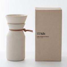 コーヒーメーカーコーヒーポットコーヒーサーバードリップコーヒードリップポット[b2cドリッパー&ピッチャー]【楽ギフ_包装選択】