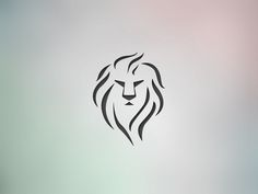 Great work from a designer in the Dribbble community; your best resource to disc… - Tatuering Leo Lion Tattoos, Tribal Lion Tattoo, Lion Tattoo Design, Tattoo Designs, Rasta Tattoo, Lion Design, Trendy Tattoos, Cute Tattoos, Body Art Tattoos