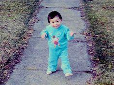 My son Mathew, age 14 months in 1981.