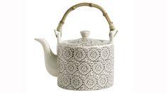lacy effect teapot