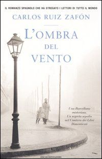 """L' ombra del vento"" di Carlos Ruiz Zafón Best Books To Read, Good Books, My Books, Romance, Best Novels, Film Music Books, Book Lovers, Thriller, Tv Series"