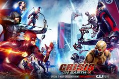 The annual CW DC Comics superhero crossover unites the casts of Flash, Supergirl, Arrow and Legends of Tomorrow. With all four series on Netflix, you can stream Crisis on Earth-X all at once like a big ol' movie. Flash E Supergirl, Supergirl Season, Supergirl 2015, Supergirl Comic, Brandon Routh, Grant Gustin, Batwoman, Live Action, Marvel Vs Dc Comics