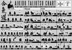 Aikido technical chart Link: http://dojosangai.it/wp-content/uploads/2014/05/aikido-technical-chart.jpg