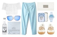"""Untitled #92"" by roxeyturner ❤ liked on Polyvore featuring Dolce&Gabbana, Miguelina, Lacoste, Marc by Marc Jacobs, Dogeared, Greece, Santorini and outfitsfortravel"