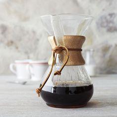 Chemex Clic Series Drip Coffee Gl Makers Sur La Table