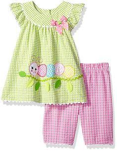 Looking for Bonnie Baby Baby Girls Seersucker Playwear Set Applique ? Check out our picks for the Bonnie Baby Baby Girls Seersucker Playwear Set Applique from the popular stores - all in one. Sewing Kids Clothes, Baby Sewing, Doll Clothes, Baby Girl Dress Patterns, Little Girl Dresses, Girls Dresses, Baby Girls, Baby Baby, Baby Newborn