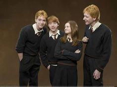 hermanos weasley