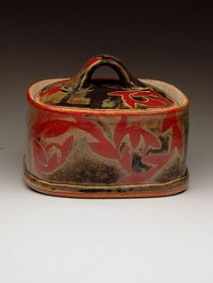 Julie Covington Lidded Box at MudFire Gallery