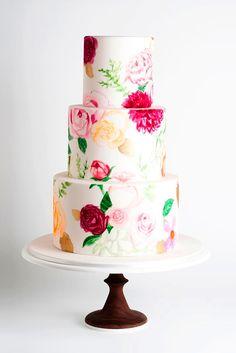 4 Amazing Wedding Cake Designers We Totally Love ❤ See more: http://www.weddingforward.com/wedding-cake-designers/ #wedding #cake #designers