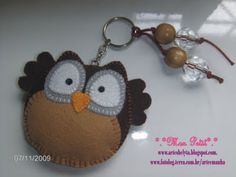 Adorable owl.  No pattern.