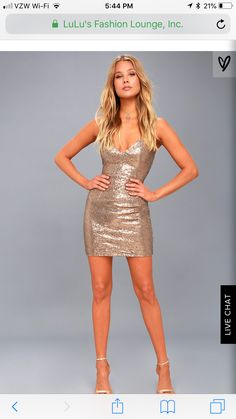 The party never has to stop in the Champagne Showers Matte Bronze Sequin Bodycon Dress! Matte, bronze sequin dance across the darted bodice. Hoco Dresses, Party Dresses For Women, Holiday Dresses, Homecoming Dresses, Sexy Dresses, Cute Dresses, Formal Dresses, Nye Dress, Sequin Dress